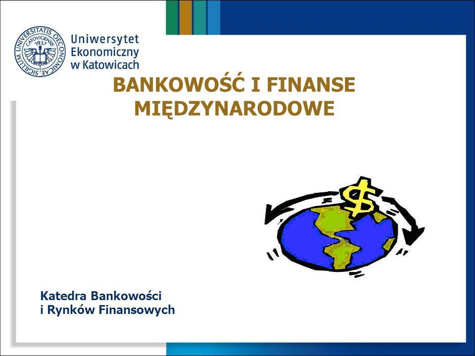 NAZWA SPECJALNOŚCIKATEDRA Bankowość i Finanse MiędzynarodoweBankowości i Rynków Finansowych Doradztwo FinansoweFinansów Finanse i InwestycjeInwestycji