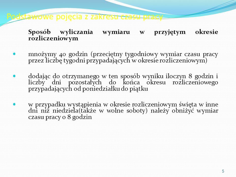 Okresy odpoczynku w wyniku dostosowania polskiego prawa pracy do Dyrektywy Rady wspólnoty Europejskiej nr 93/104 z 23 listopada 1993 r.