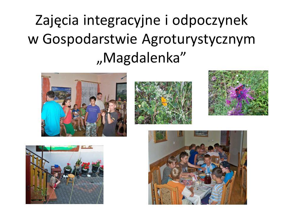 Zajęcia integracyjne i odpoczynek w Gospodarstwie Agroturystycznym Magdalenka