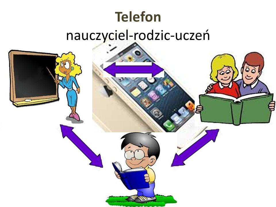 Telefon nauczyciel-rodzic-uczeń