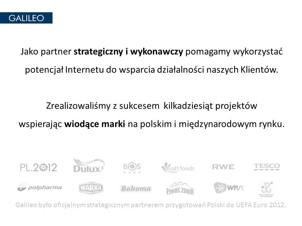 Jako partner strategiczny i wykonawczy pomagamy wykorzystać potencjał Internetu do wsparcia działalności naszych Klientów. Zrealizowaliśmy z sukcesem