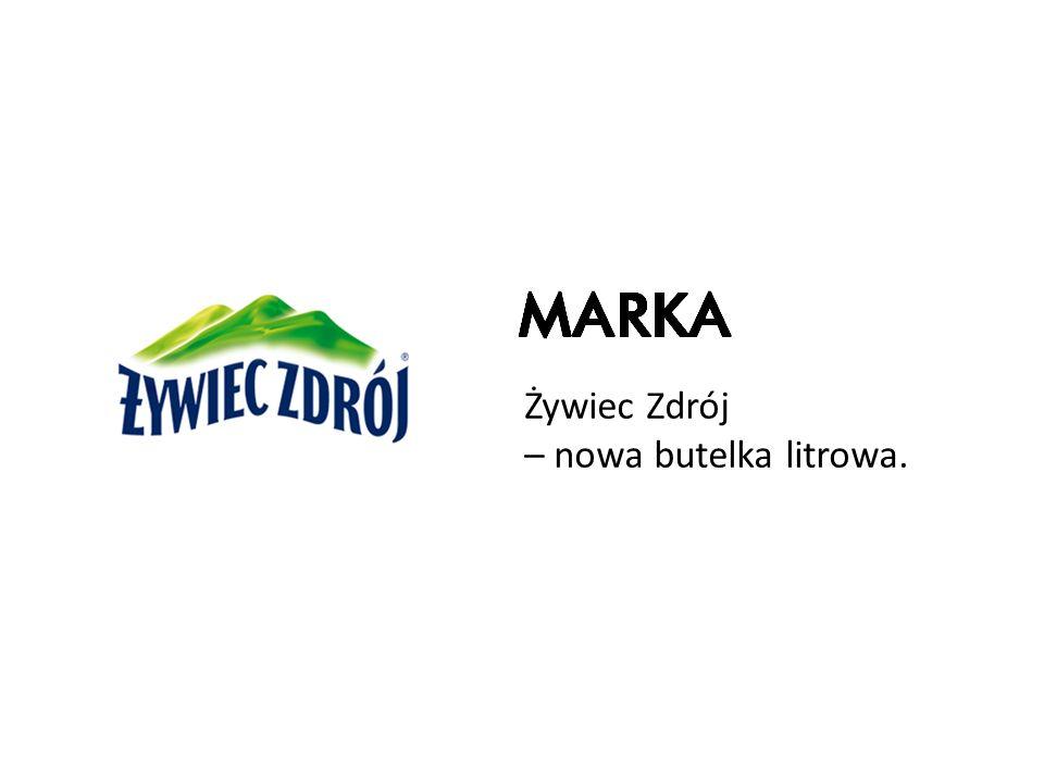 Żywiec Zdrój – nowa butelka litrowa.