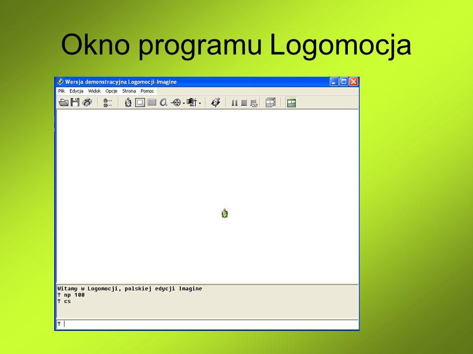 Procedury bez parametrów OTO nazwa ………… JUŻ Polecenie OTO pozwala nauczyć simbę wykonywać ciąg poleceń.