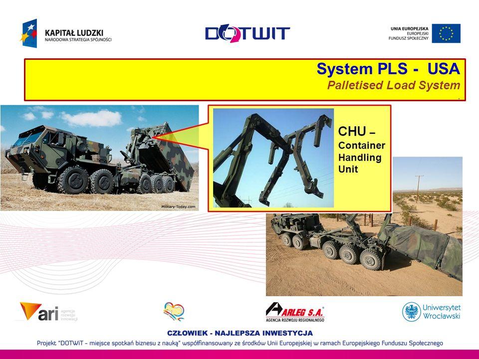System PLS - USA Palletised Load System.