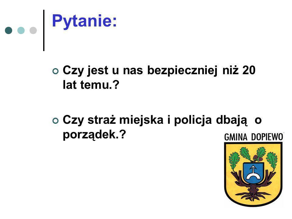 Policja Straż gminna