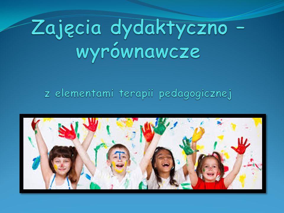 Zadania terapeuty pedagogicznego Zadania specjalistów opisane w rozporządzeniu MEN z dnia 13 kwietnia 2013r.