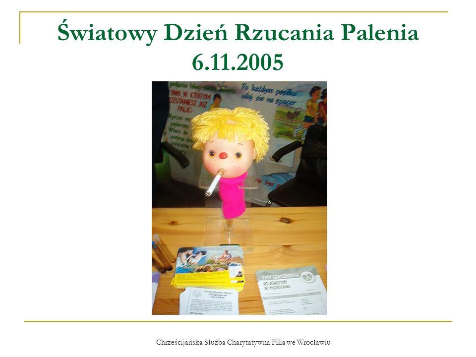 Chrześcijańska Służba Charytatywna Filia we Wrocławiu Kolacja i koncert dla najuboższych – 11.12.2005