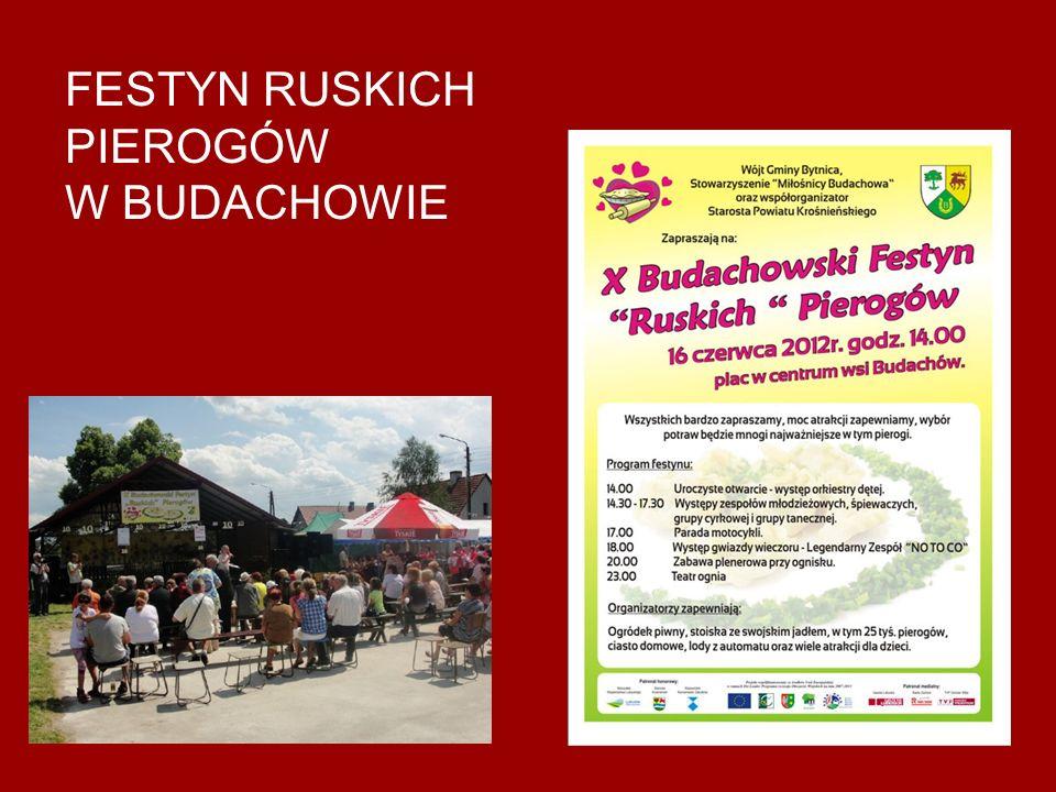 FESTYN RUSKICH PIEROGÓW W BUDACHOWIE