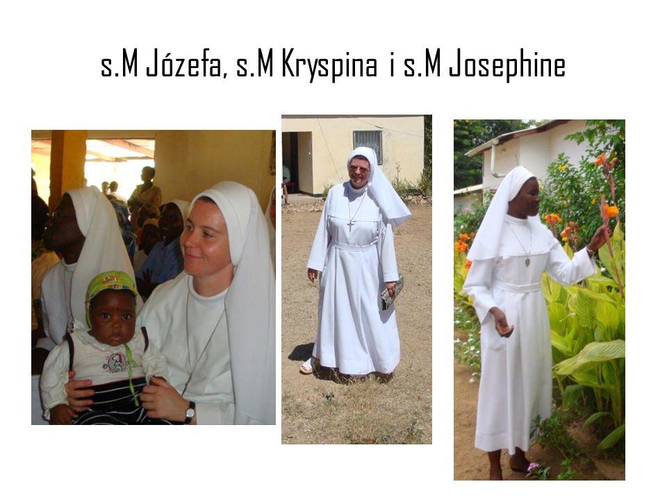s.M Józefa, s.M Kryspina i s.M Josephine