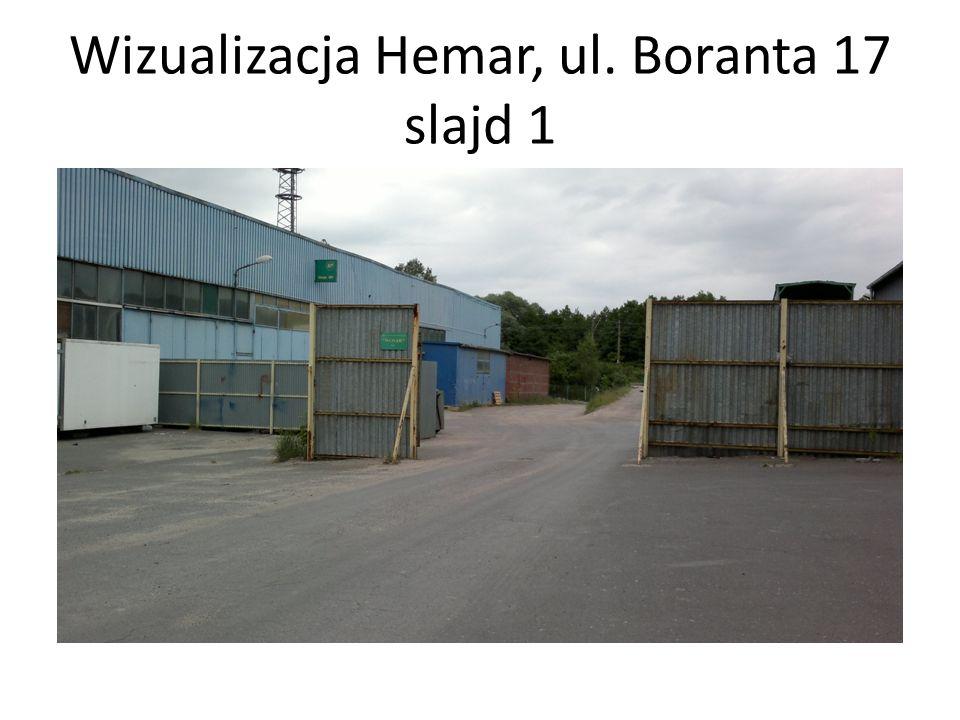Wizualizacja Hemar, ul. Boranta 17 slajd 1