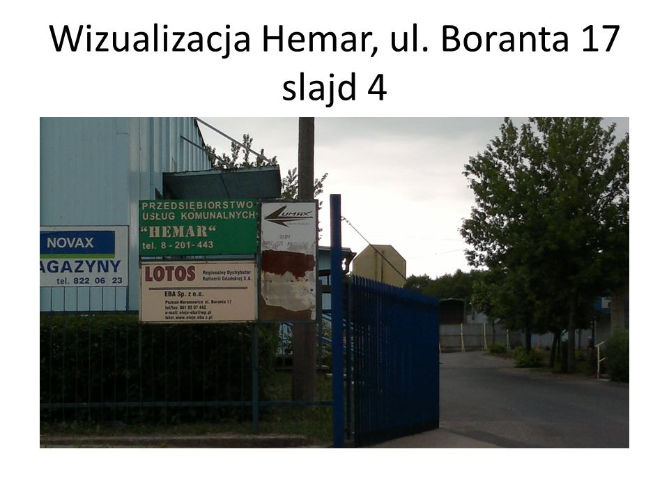 Wizualizacja Hemar, ul. Boranta 17 slajd 4