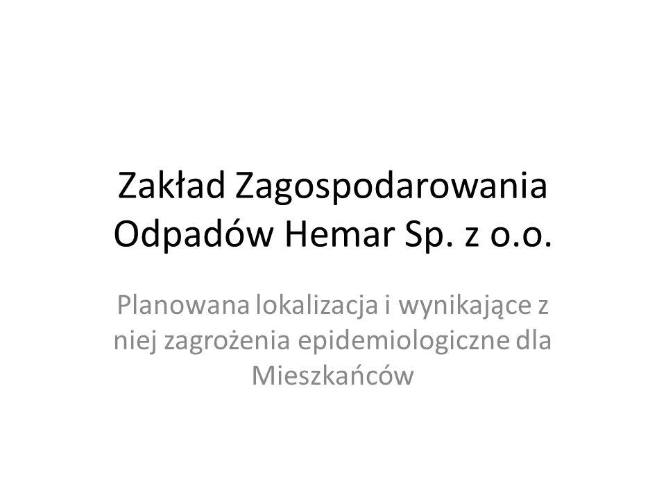Zakład Zagospodarowania Odpadów Hemar Sp.z o.o.