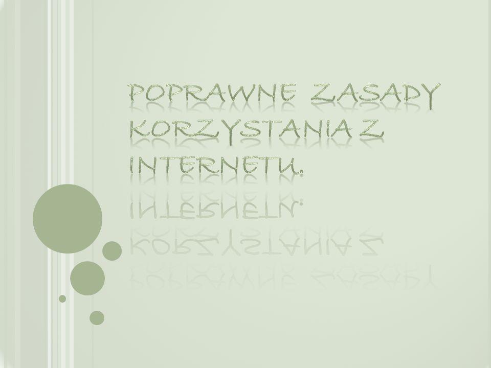 Spotkania z osobami poznanymi w Internecie mog ą by ć niebezpieczne!.