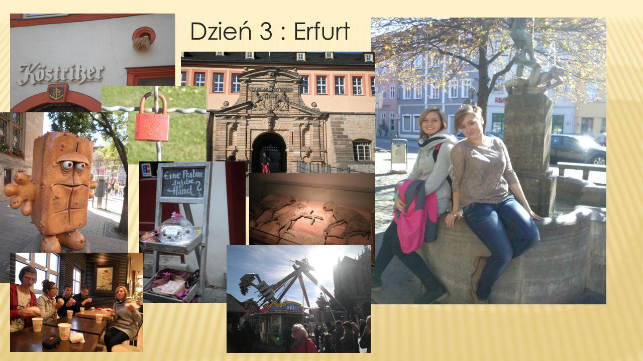 Dzień 3 : Erfurt
