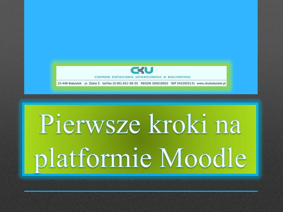 Aby wejść na stronę główną Centrum Kształcenia Ustawicznego w Białymstoku, wpisz adres strony: www.ckubialystok.pl (Rys.1.)