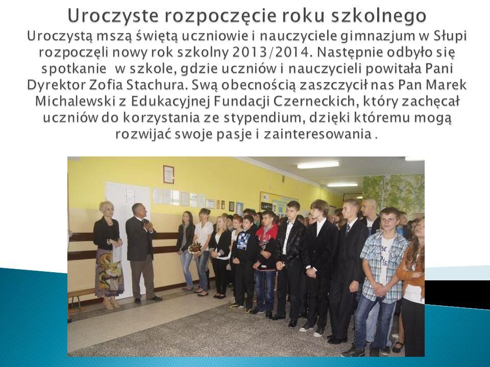Zajęcia integracyjne w klasach pierwszych przeprowadziła Pani Karina Nowak – pedagog szkolny.