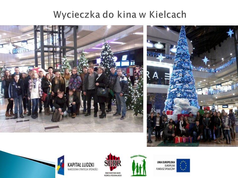 Wycieczka do kina w Kielcach