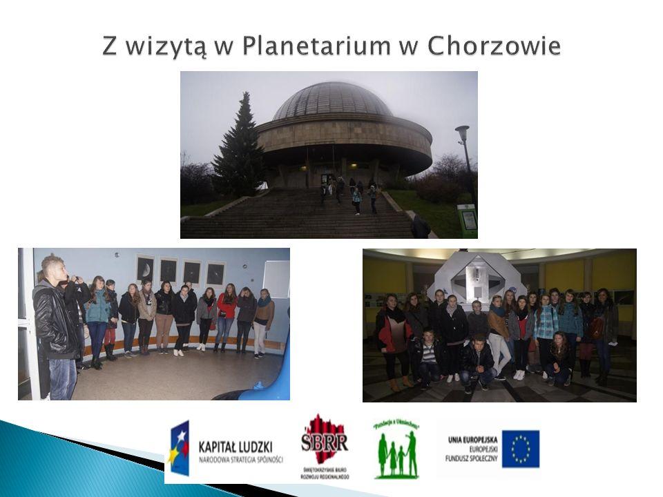 Z wizytą w Planetarium w Chorzowie