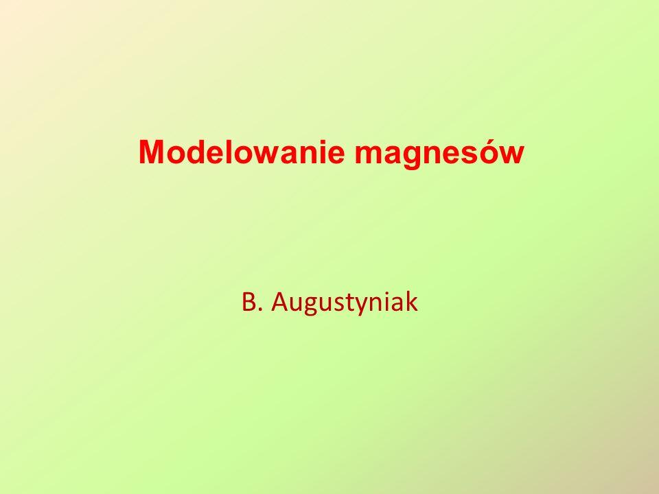 Magnes stały – obwód krótki