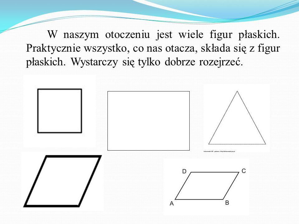 Twierdzenie odwrotne do twierdzenie Pitagorasa Jeżeli kwadrat długości najdłuższego boku trójkąta jest równy sumie kwadratów długości pozostałych boków, to ten trójkąt jest prostokątny.