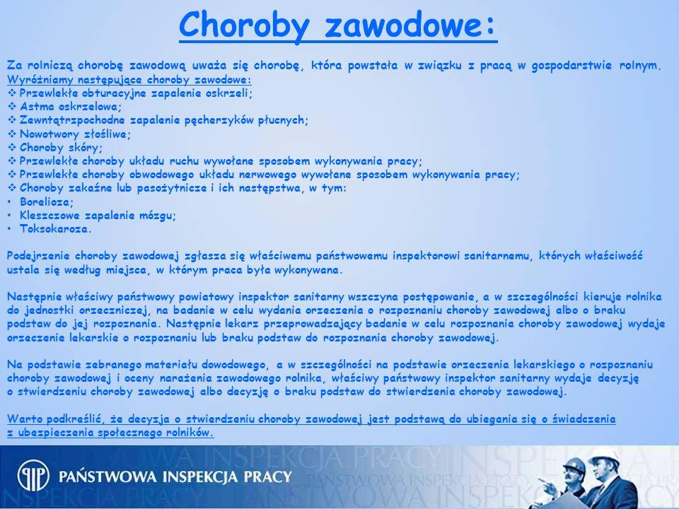 Gospodarstwo Państwa Bystron w Sławkach III miejsce w konkursie krajowym Bezpieczne Gospodarstwo Rolne w 2010 roku