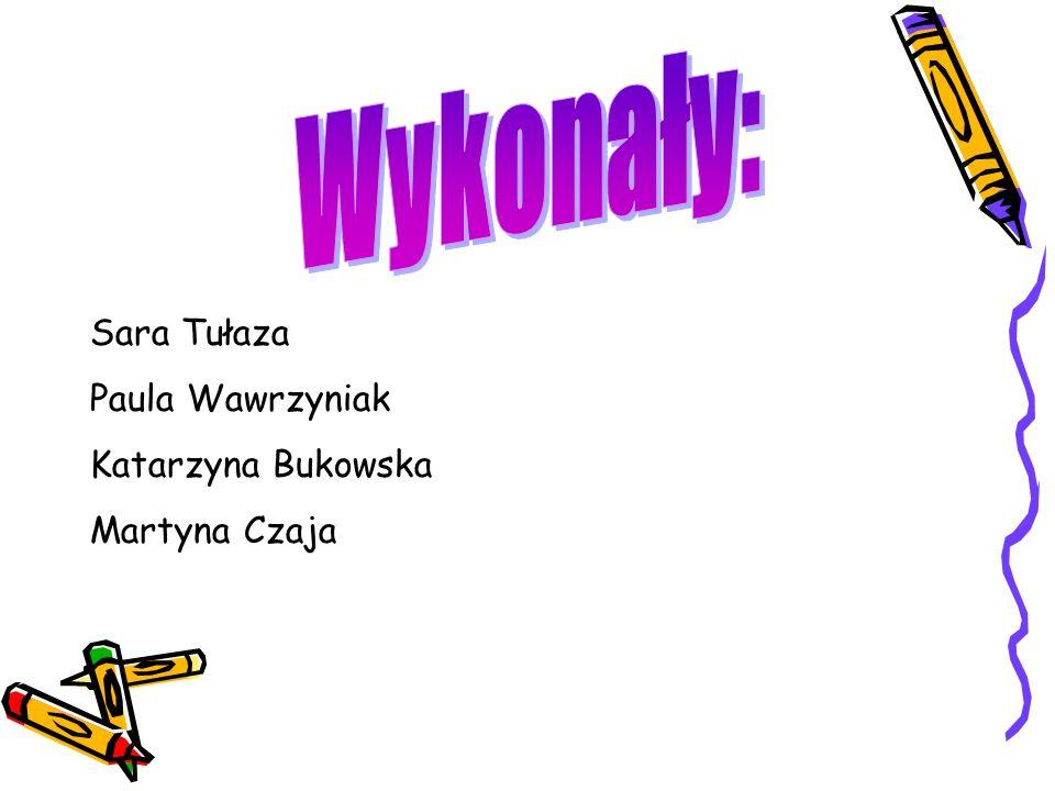 Sara Tułaza Paula Wawrzyniak Katarzyna Bukowska Martyna Czaja