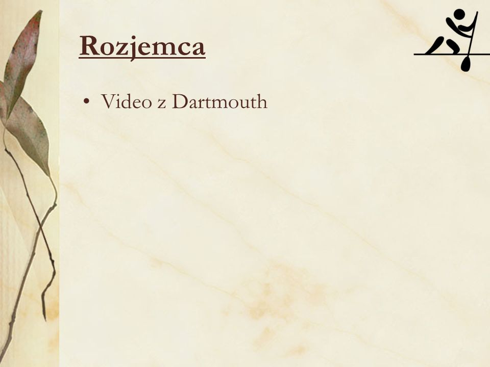 Video z Dartmouth