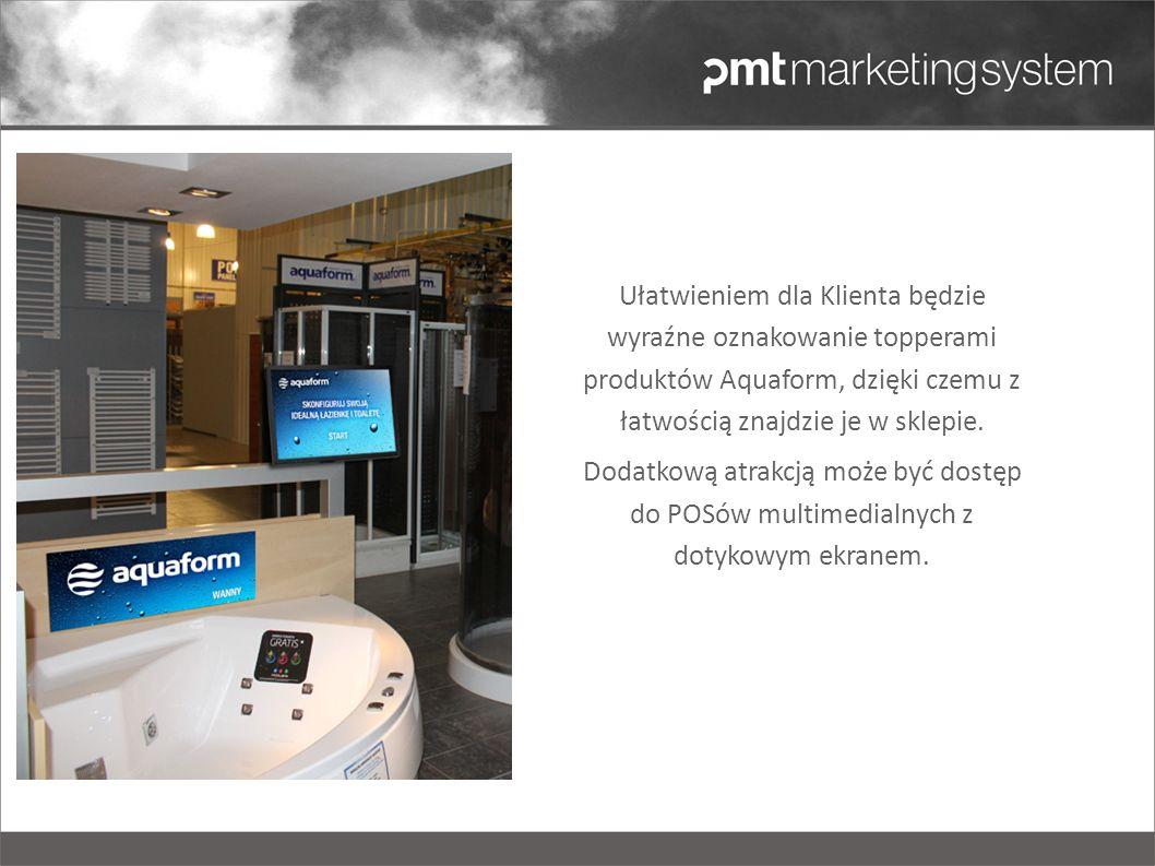 Multimedialny POS będzie ułatwiał Klientowi wyszukiwanie interesujących go produktów – np.