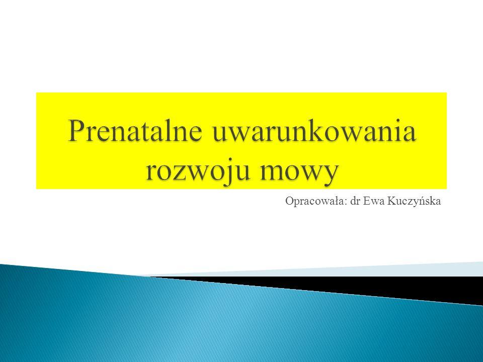 Opracowała: dr Ewa Kuczyńska