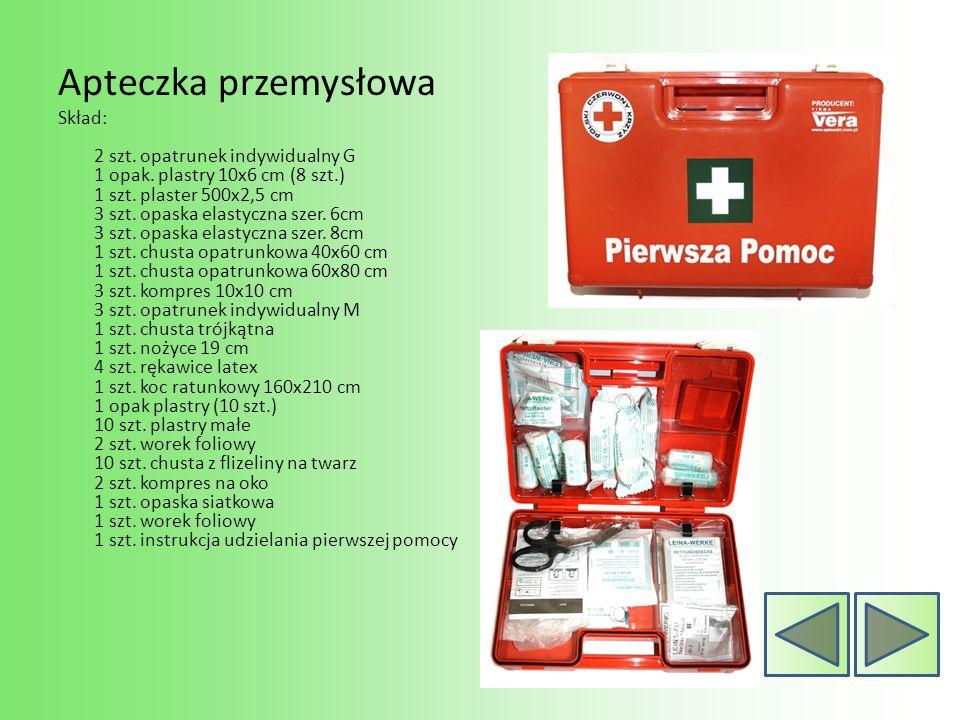 Podsumowanie: Korzystanie z apteczki pierwszej pomocy ułatwia prowadzenie działań ratunkowych na miejscu nagłego zdarzenia.