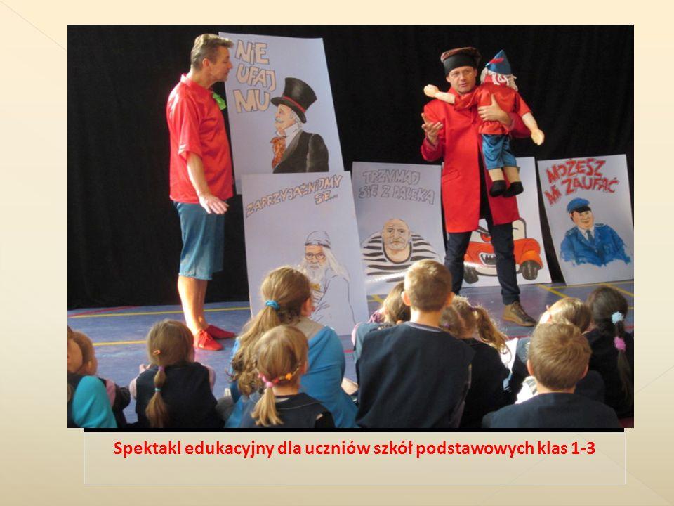 Spektakl edukacyjny dla uczniów szkół podstawowych klas 1-3
