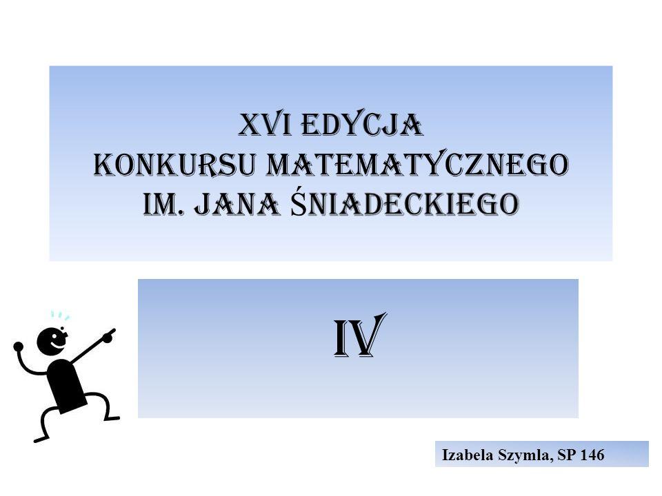 IV Izabela Szymla, SP 146