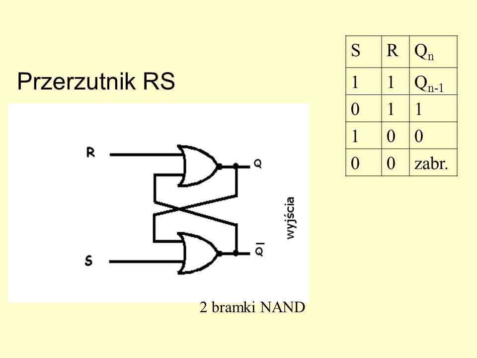 Przerzutniki (układy sekwencyjne!) Przerzutniki Przerzutniki są elementami układów sekwencyjnych, których podstawowym zadaniem jest pamiętanie jednego
