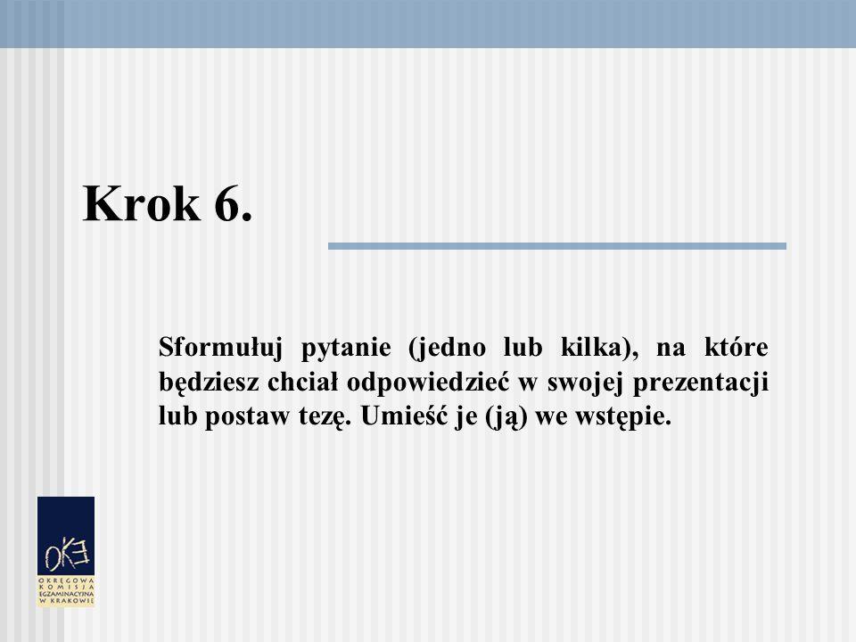 Krok 6.
