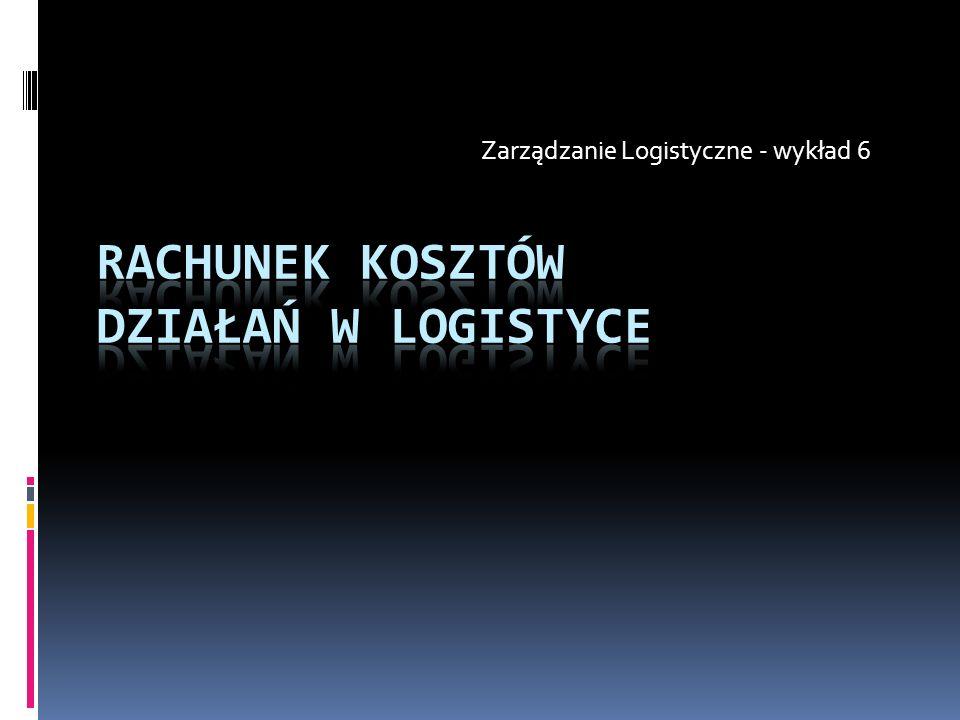 Zarządzanie Logistyczne - wykład 6