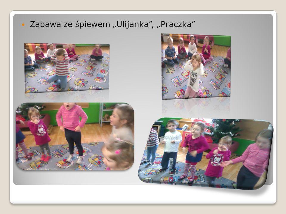 Zabawa ze śpiewem Ulijanka, Praczka
