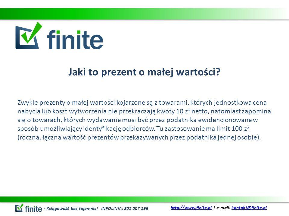 Podatek VAT od przekazanych nieodpłatnie prezentów Zgodnie z art.