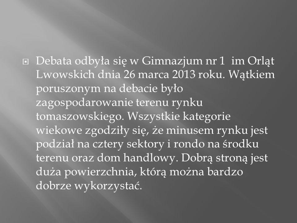 P.Mariusz Grad- Poseł na Sejm RP P. Wojciech Żukowski-Burmistrz miasta (Tomaszowa Lubelskiego) P.