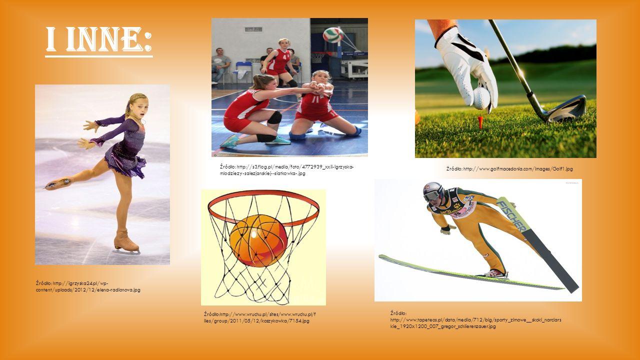 I INNE: Źródło: http://igrzyska24.pl/wp- content/uploads/2012/12/elena-radionova.jpg Źródło: http://s3.flog.pl/media/foto/4772939_xxii-igrzyska- mlodz