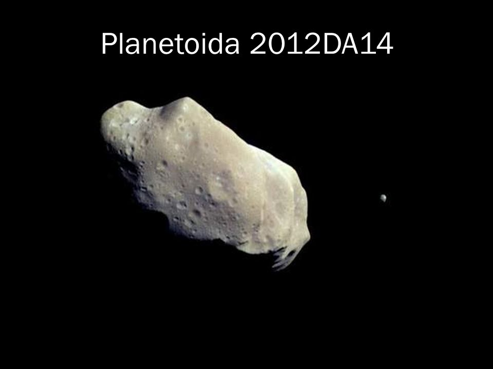 Planetoida 2012DA14