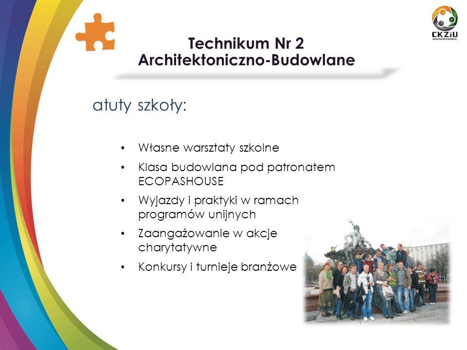 Technikum Nr 5 Samochodowo-Mechatroniczne kierunki kształcenia: Technik pojazdów samochodowych Technik mechatronik Technik mechanik Technik hutnik