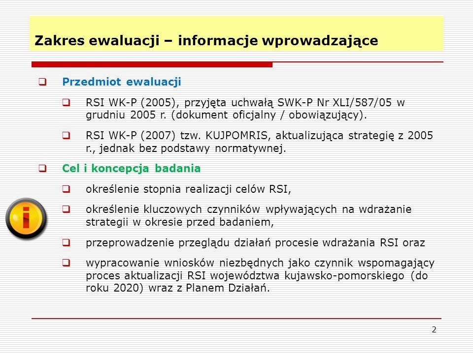 Metodologia ewaluacji 3 Dwa źródła danych dane zastane + dane pochodzące z badań empirycznych.