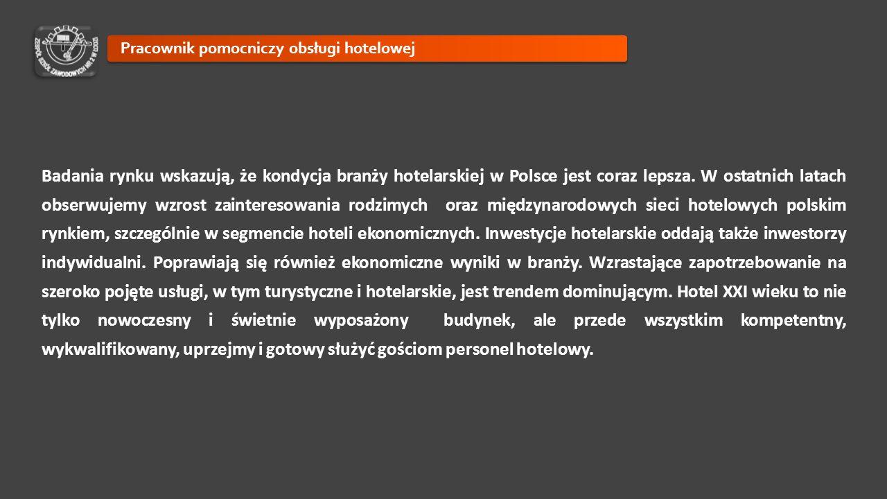 Badania rynku wskazują, że kondycja branży hotelarskiej w Polsce jest coraz lepsza. W ostatnich latach obserwujemy wzrost zainteresowania rodzimych or