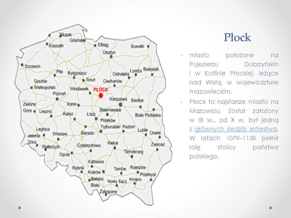 Płock – miasto nad Wisłą