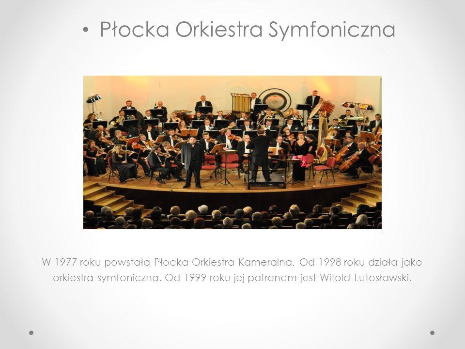 Teatr dramatyczny Początki teatru w Płocku sięgają początków XIX wieku. 20 sierpnia 1812 roku dzięki staraniom ówczesnego prefekta departamentu płocki