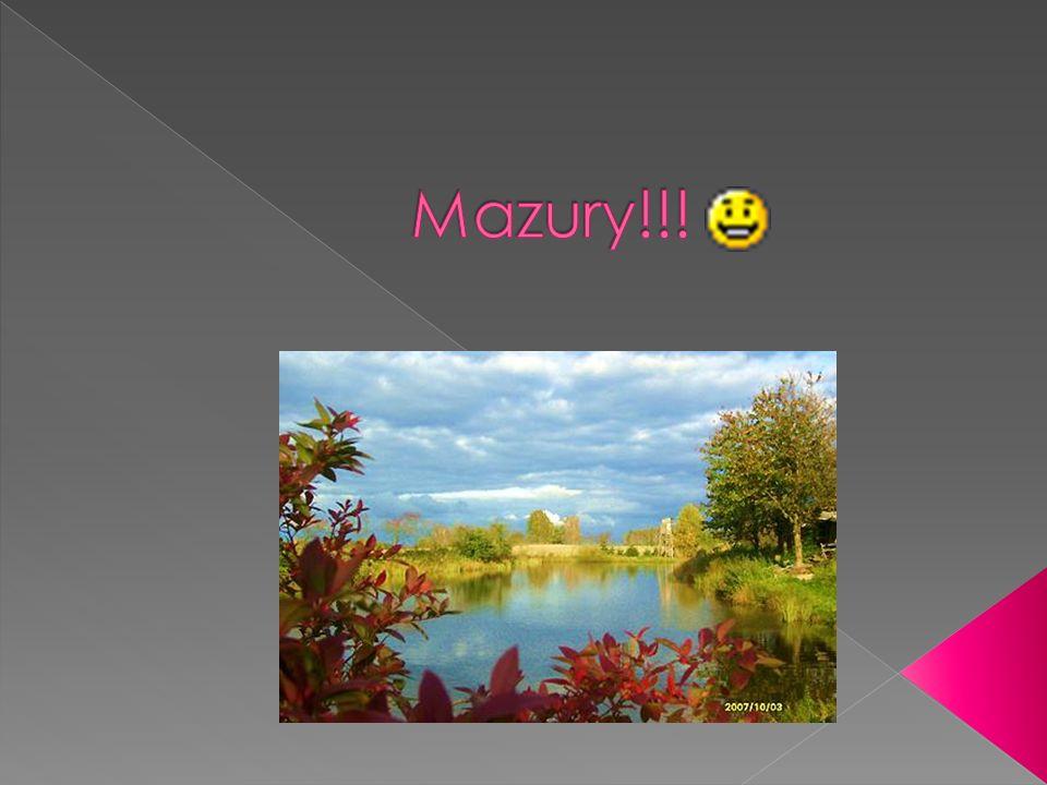 Mazury (dawn.Mazowsze Pruskie, Mazury Pruskie, niem.