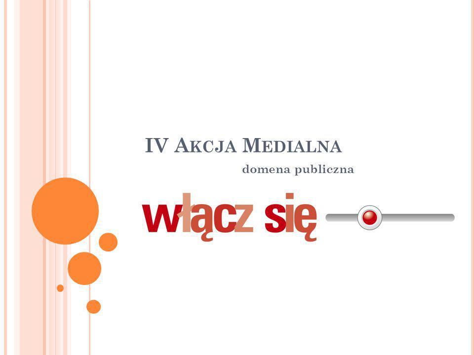 Aktualna akcja medialna składa się z dwóch części.