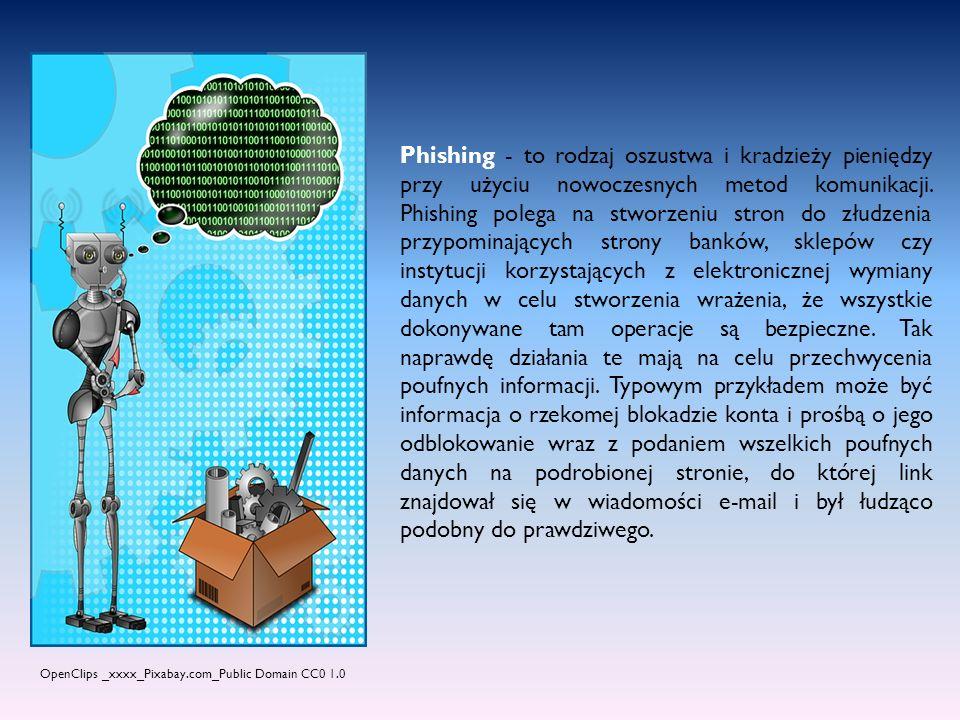 Robak - to samo replikujący się program komputerowy, który stara się rozprzestrzeniać na wszystkich komputerach połączonych do sieci jak i na nośnikach pamięci masowych.