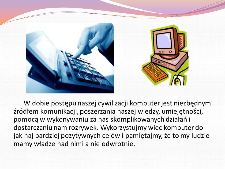 10 ZASAD BEZPIECZNEGO KORZYSTANIA Z INTERNETU 1.Korzystaj z oprogramowania antywirusowego 2.Otwieraj wiadomości tylko od znajomych osób 3.Ostrożnie pobieraj pliki z sieci 4.Unikaj klikania w nieznane linki i w załączniki w e-mail 5.Nie podawaj w sieci danych osobowych, haseł, nie wysyłaj swoich zdjęć