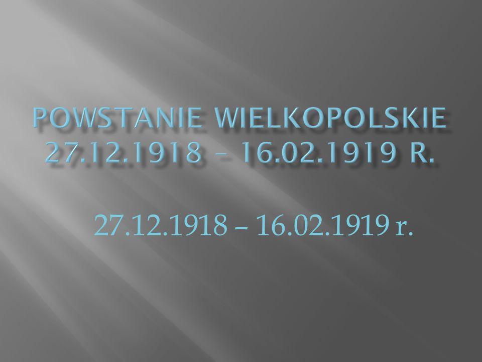 27.12.1918 – 16.02.1919 r.